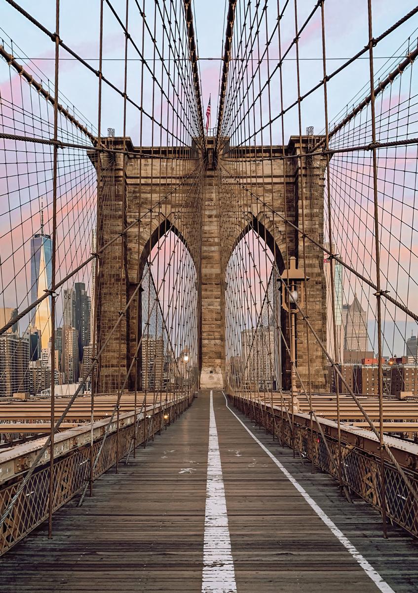 Brooklyn Bridge NY New York Jigsaw Puzzle
