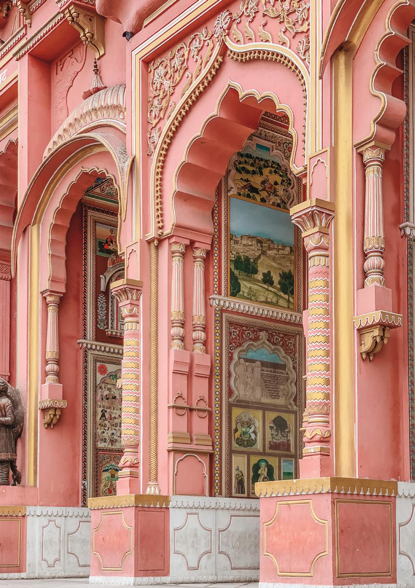 Hawa Mahal Landmarks / Monuments Jigsaw Puzzle