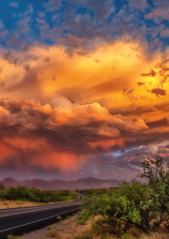 Desert Clouds, Arizona Landscape Jigsaw Puzzle