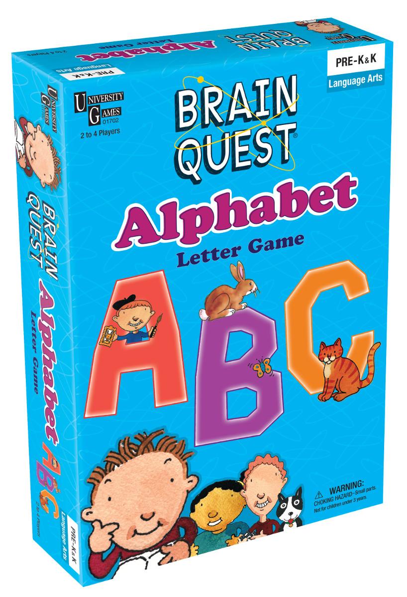 Brain Quest Abc Game Scratch And Dent Puzzlewarehousecom