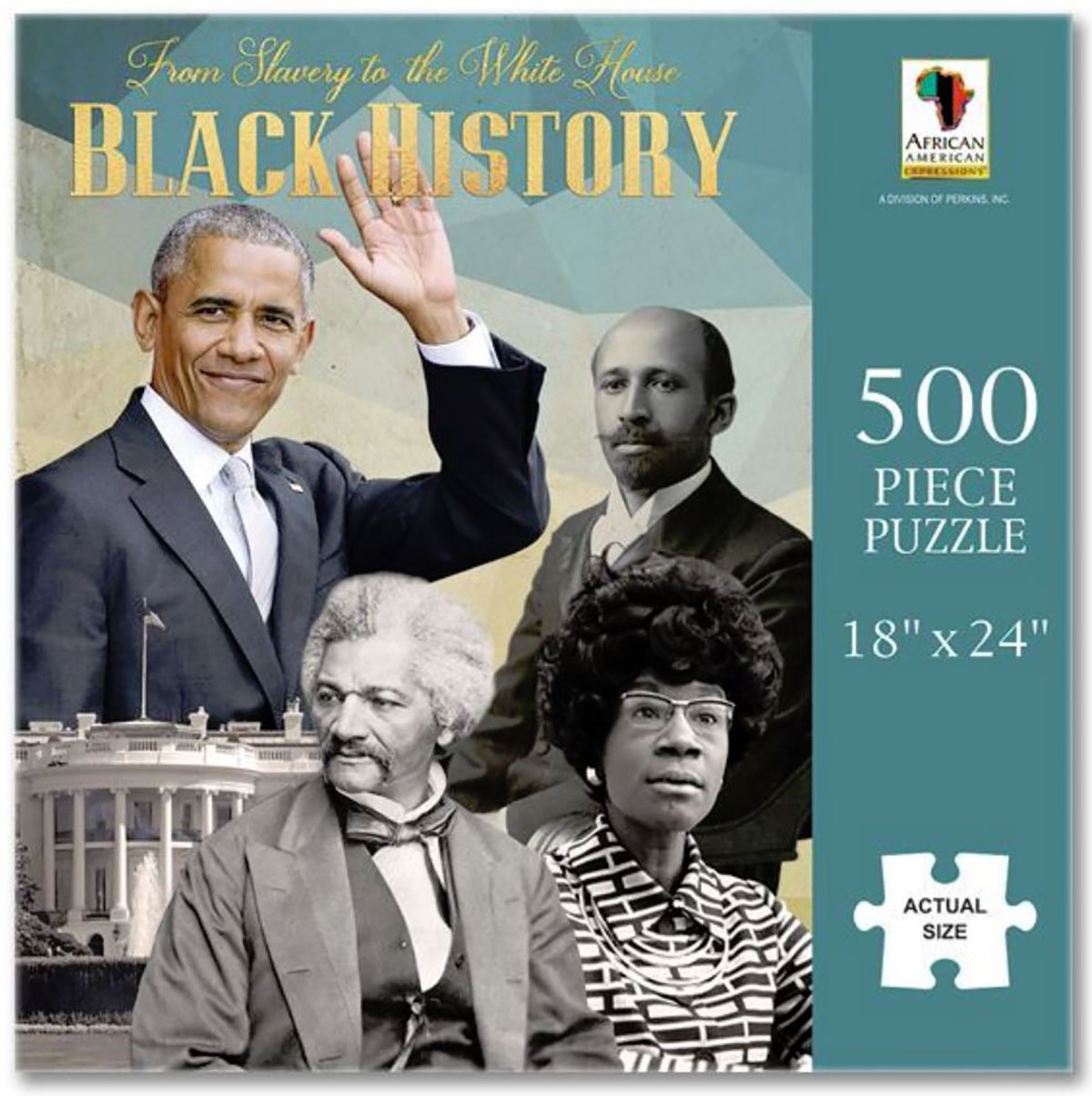 Black History Famous People Jigsaw Puzzle