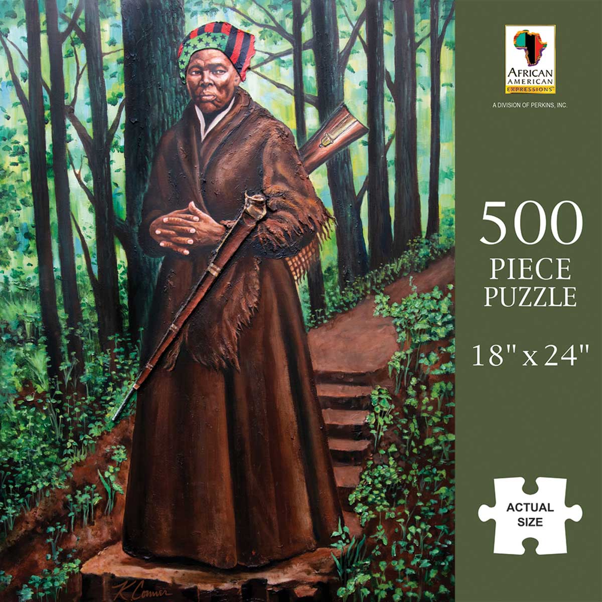 Harriet Tubman Famous People Jigsaw Puzzle