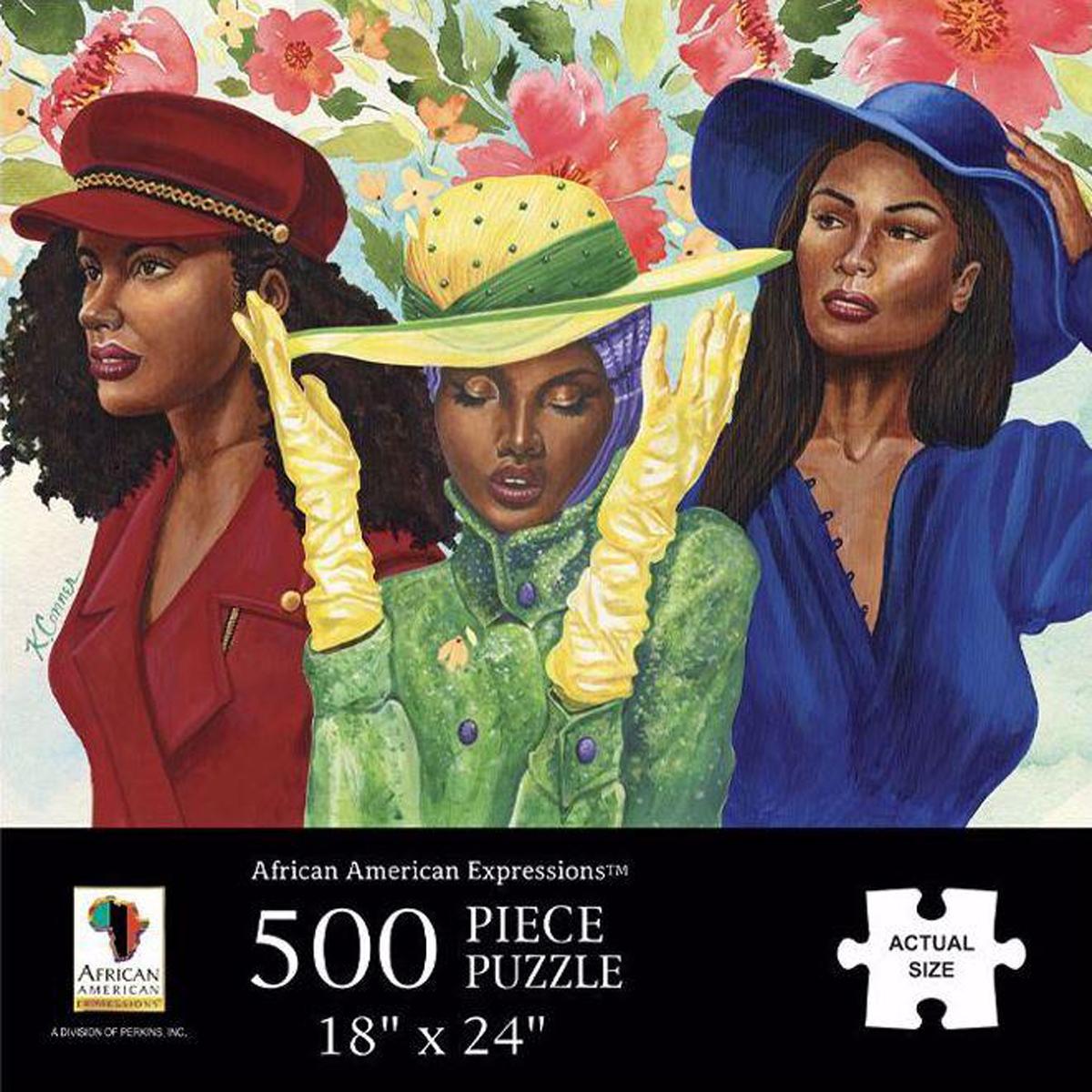 Sunday Morning People Jigsaw Puzzle