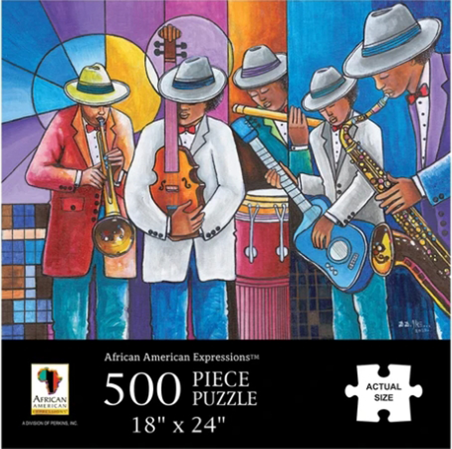 All That Jazz African American Jigsaw Puzzle