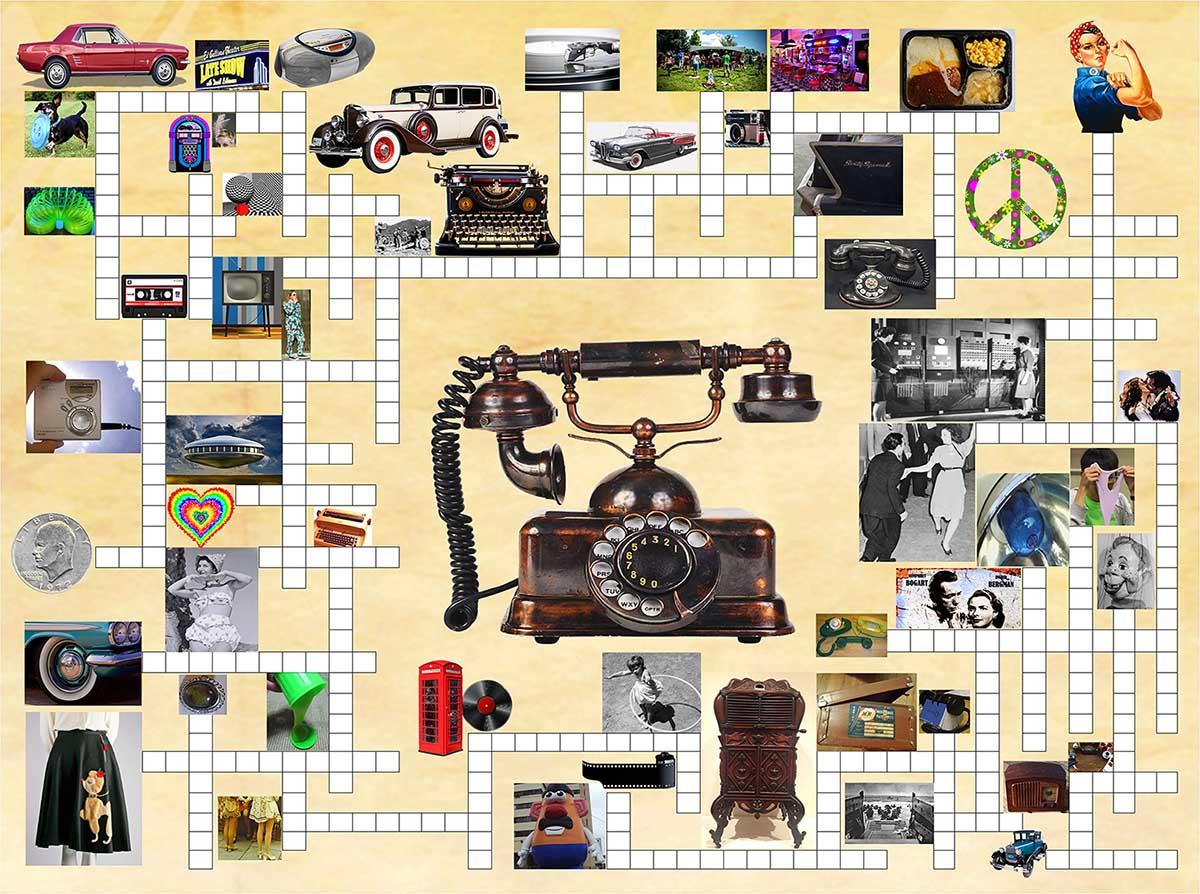Remember When Nostalgic / Retro Jigsaw Puzzle