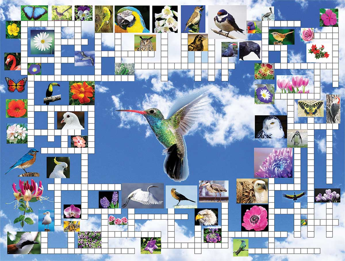 Taking Flight Birds Jigsaw Puzzle
