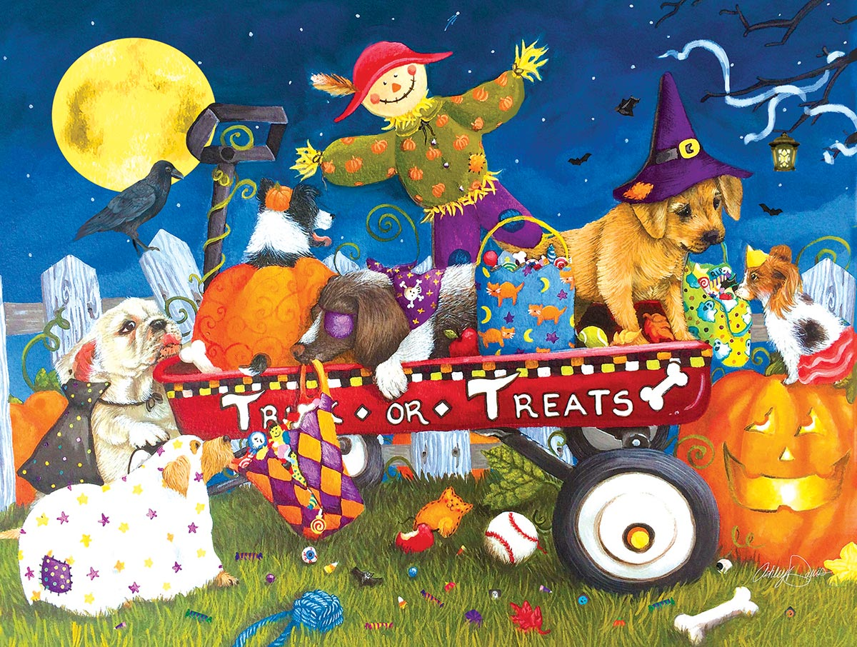 Halloween Puppies Dogs Jigsaw Puzzle