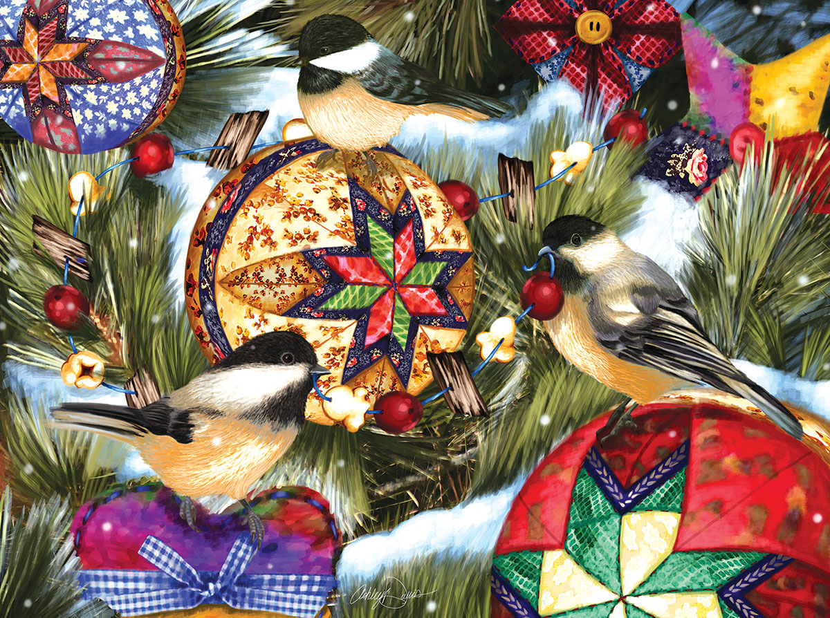 Birds and Ornaments - Scratch and Dent Birds Jigsaw Puzzle