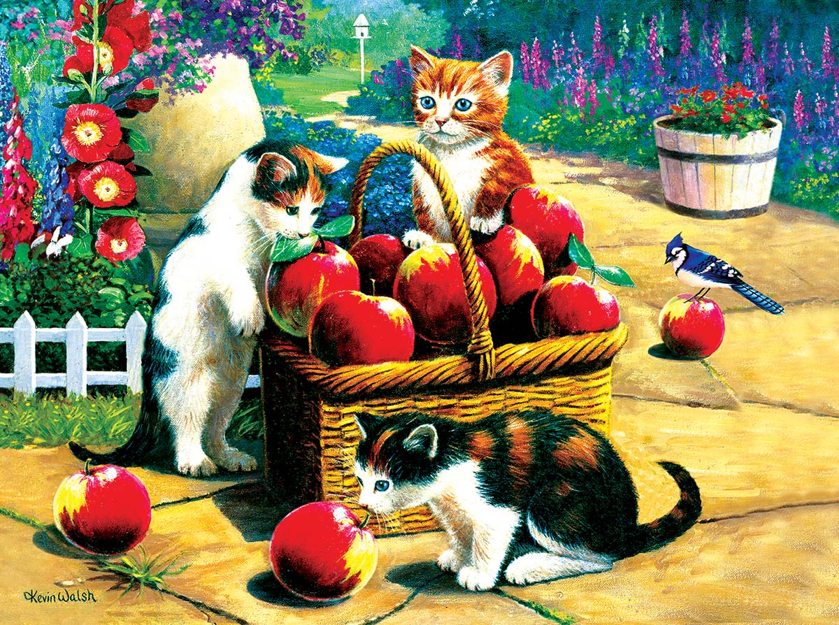We Found A Bumper Crop Cats Jigsaw Puzzle