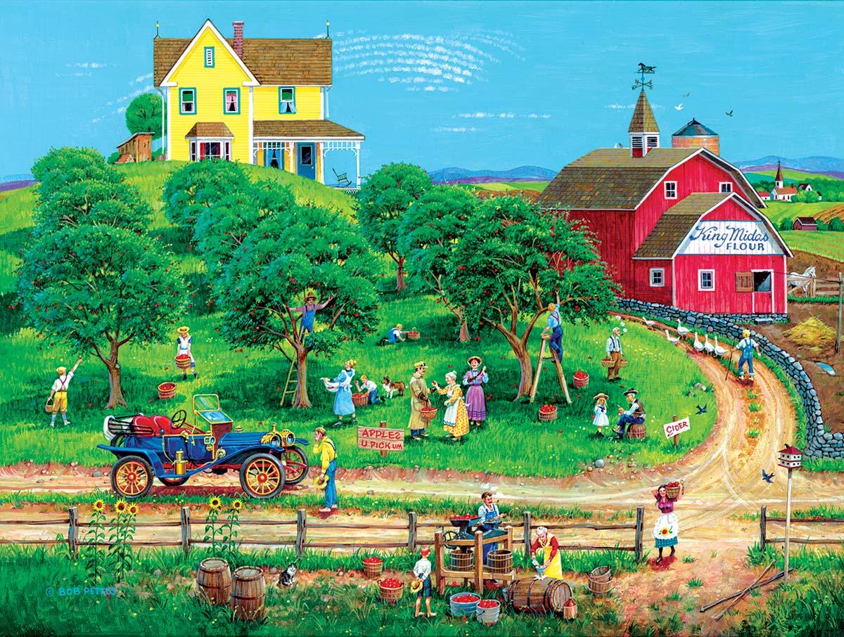 Appletime Farm Jigsaw Puzzle