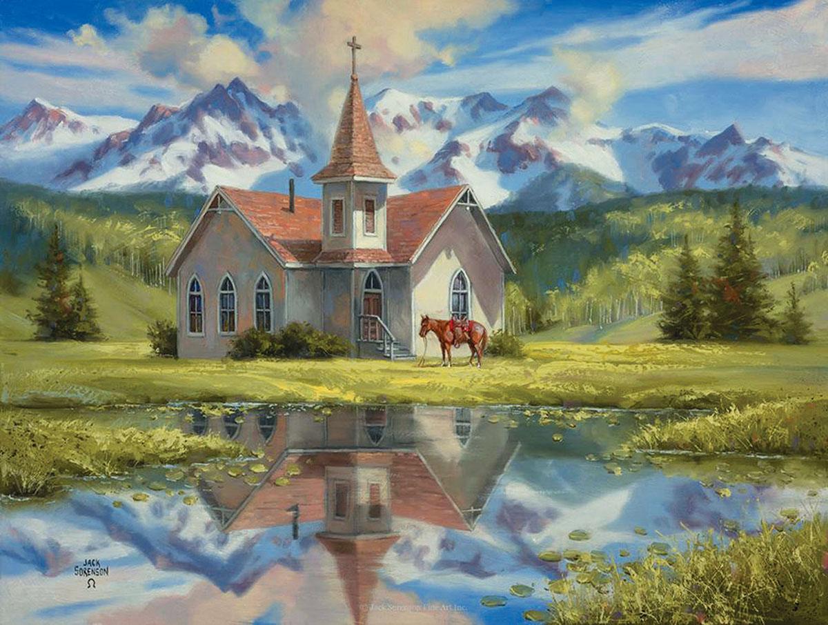 Almost Heaven Landscape Jigsaw Puzzle
