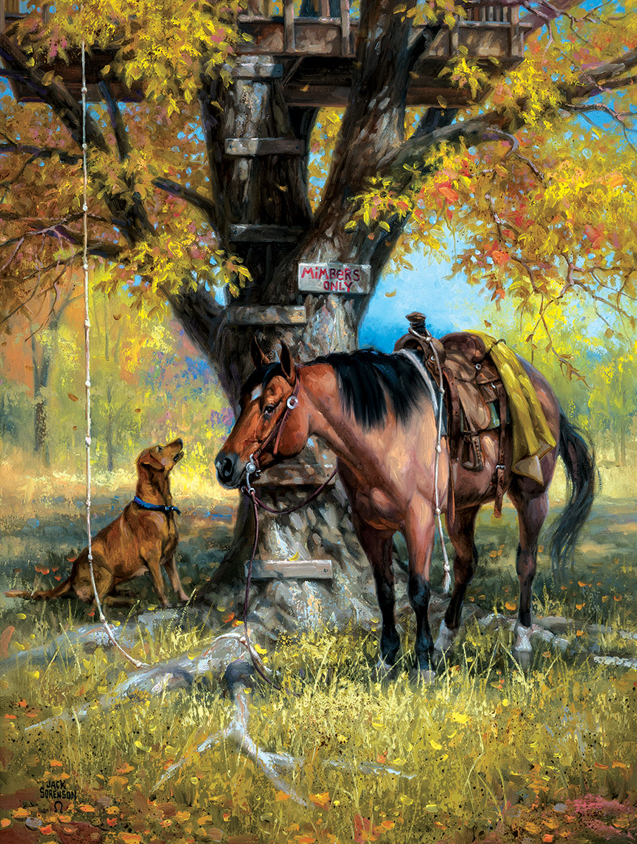 Mimbers Only Countryside Jigsaw Puzzle