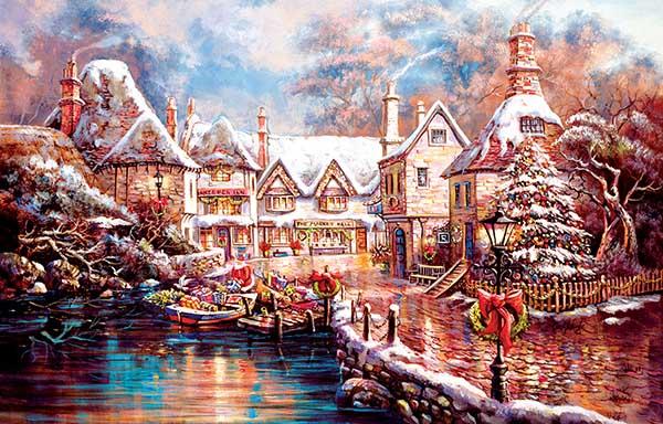 Christmas Cove Christmas Jigsaw Puzzle