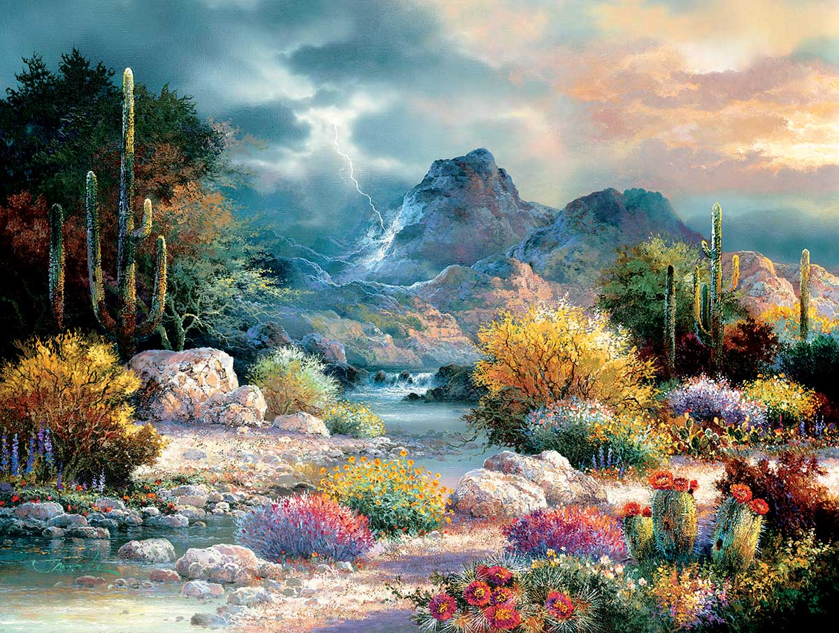 Springtime Valley Spring Jigsaw Puzzle