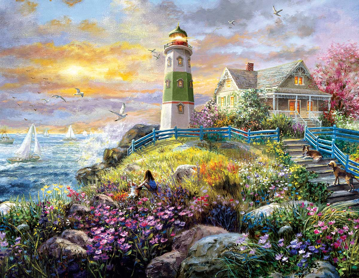 A Lighthouse Memory Lighthouses Jigsaw Puzzle