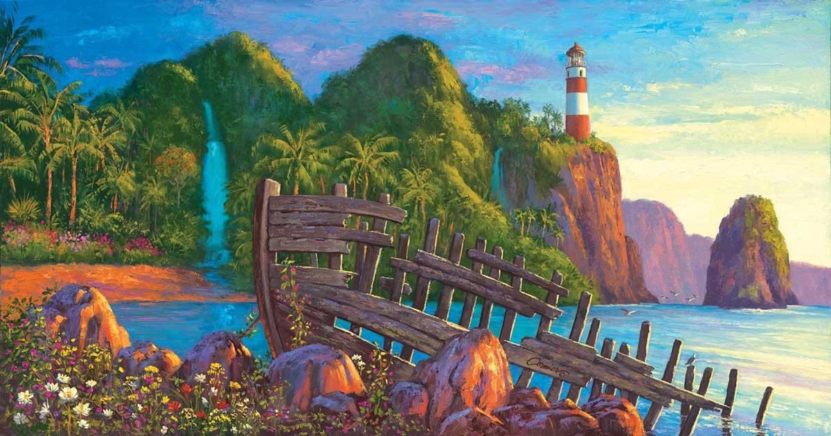 Paradise Cove Beach Jigsaw Puzzle
