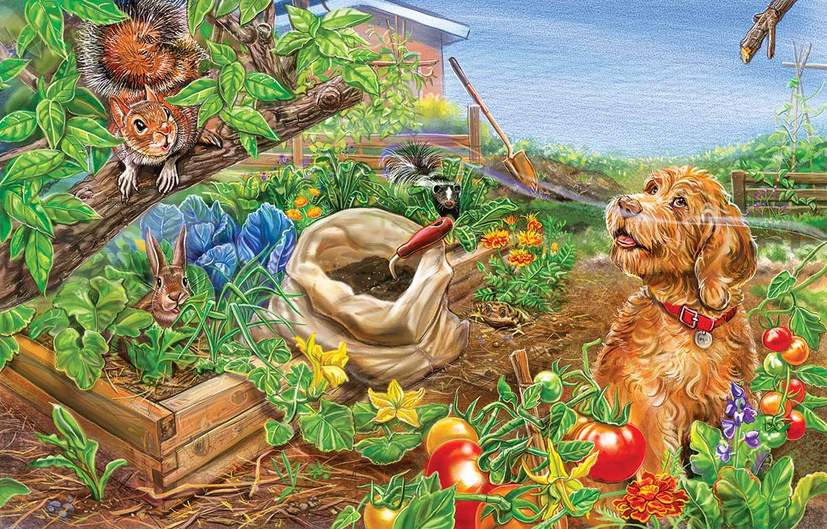Wild Ones Farm Jigsaw Puzzle