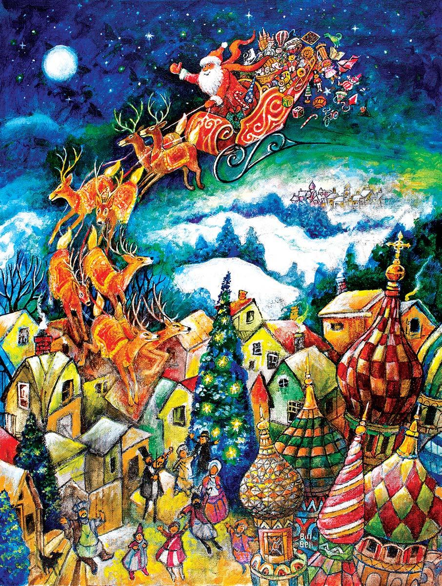 St. Nicholas Santa Jigsaw Puzzle