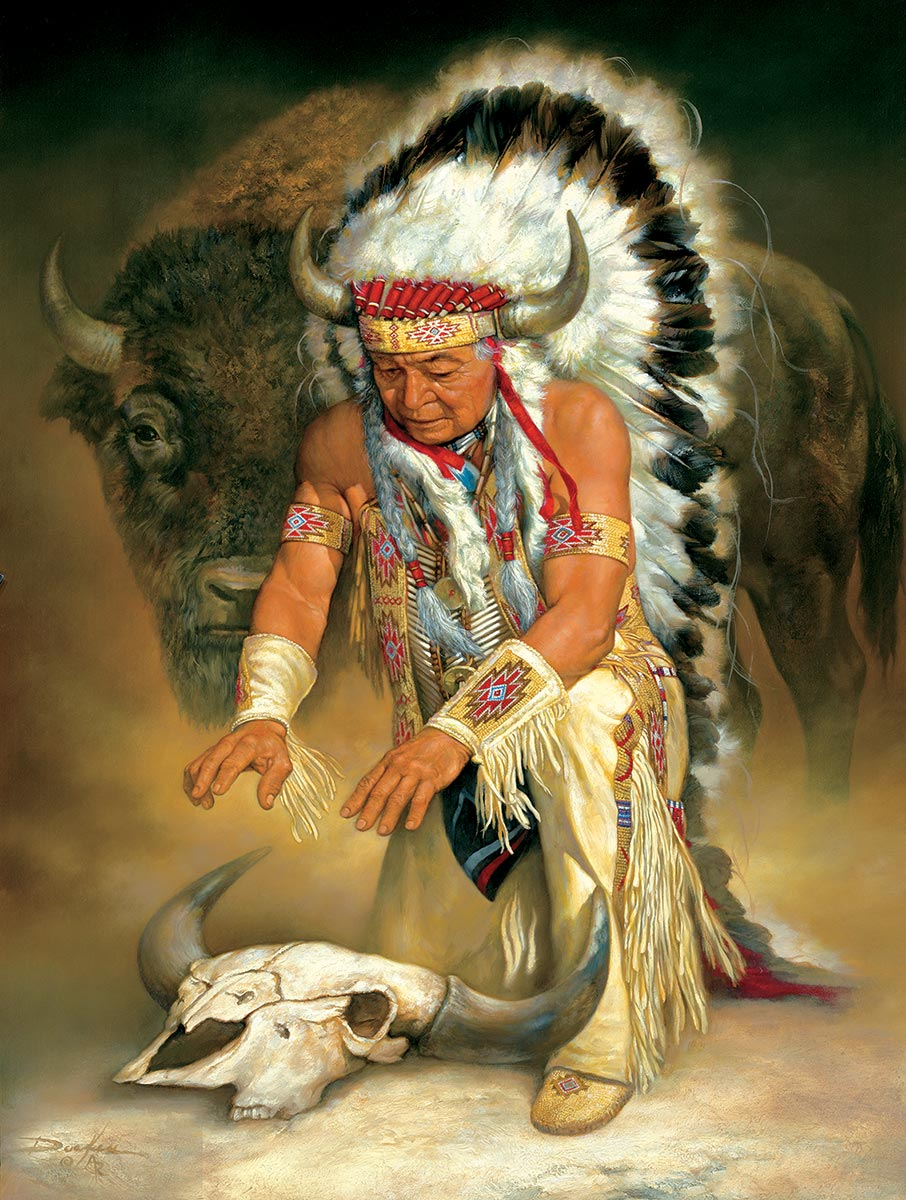 In Honor Native American Jigsaw Puzzle