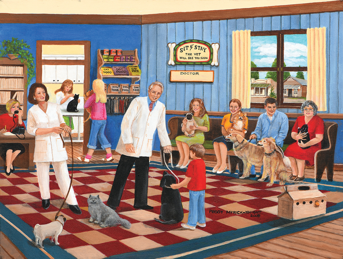The Veterinarian Cats Jigsaw Puzzle