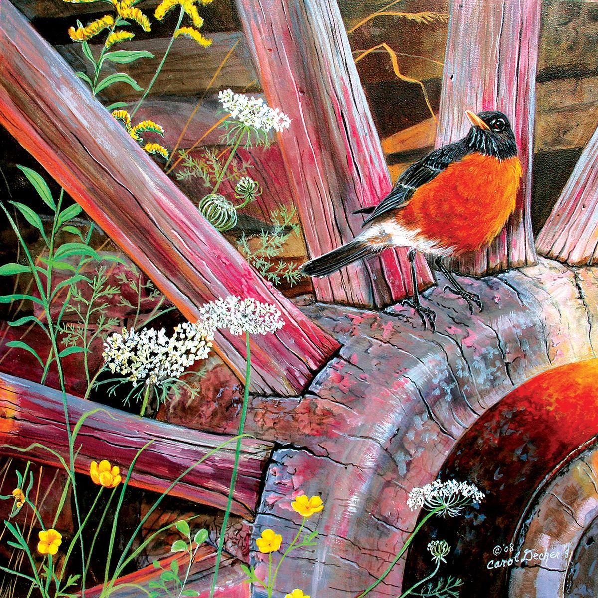Round Robin Birds Jigsaw Puzzle