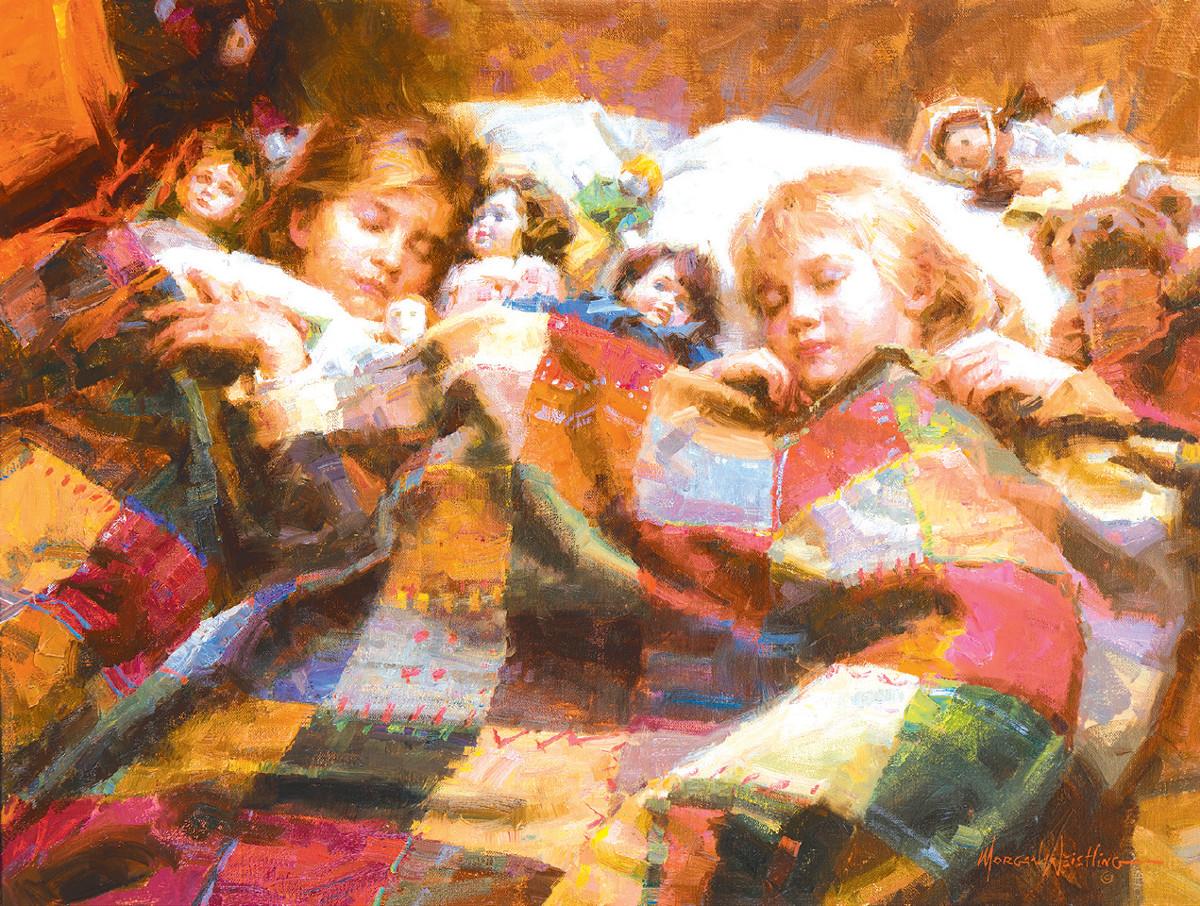 The Sleepover Jigsaw Puzzle | PuzzleWarehouse.com