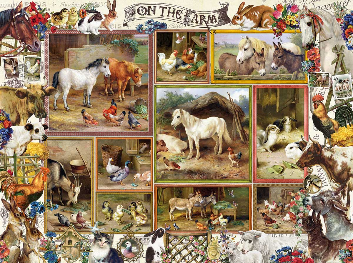 On the Farm Farm Jigsaw Puzzle