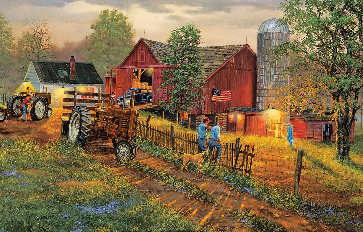 America's Heartland Countryside Jigsaw Puzzle