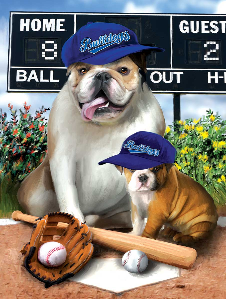 Play Ball Dogs Jigsaw Puzzle