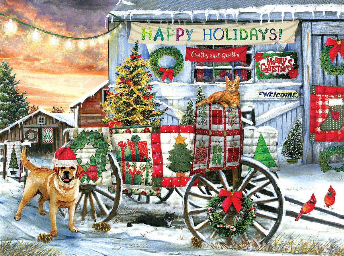 Holiday Wagon - Scratch and Dent Jigsaw Puzzle
