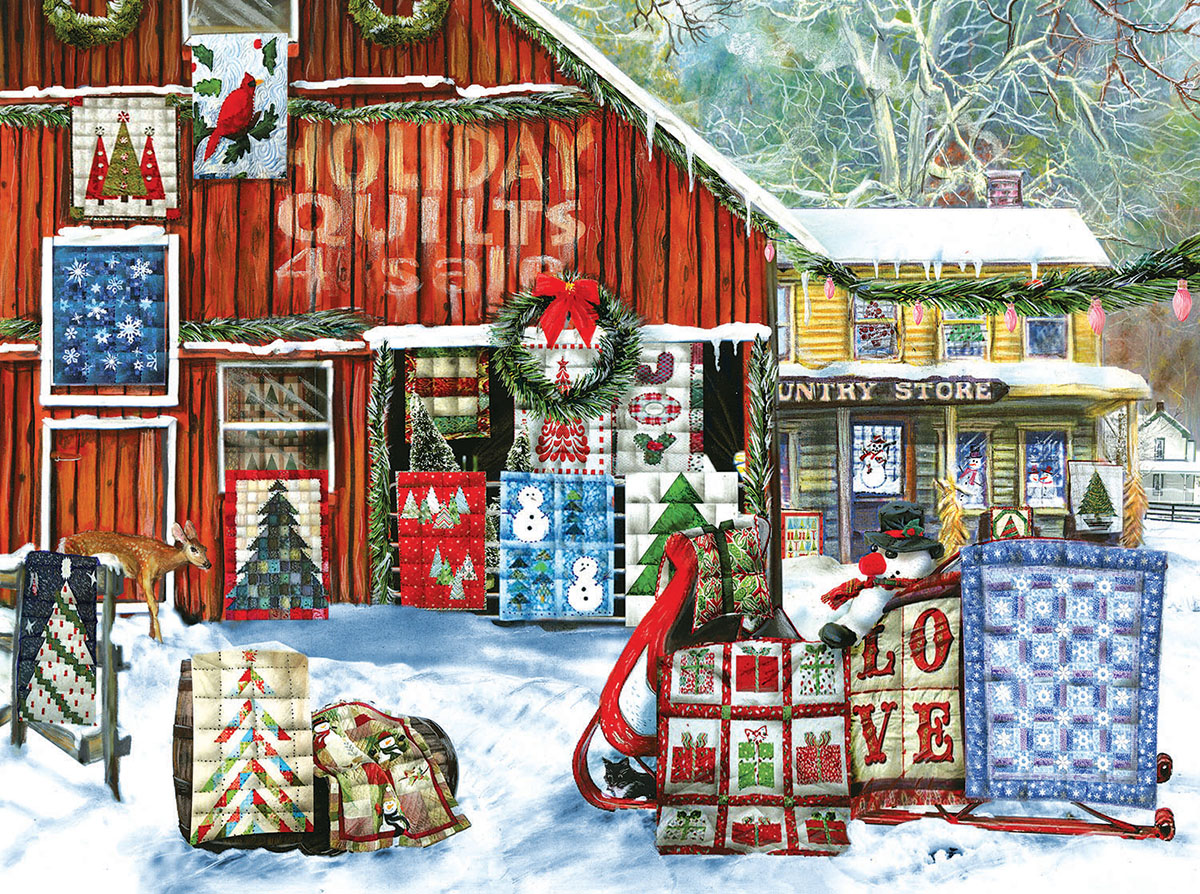 Christmas Jigsaw Puzzles 500 Piece