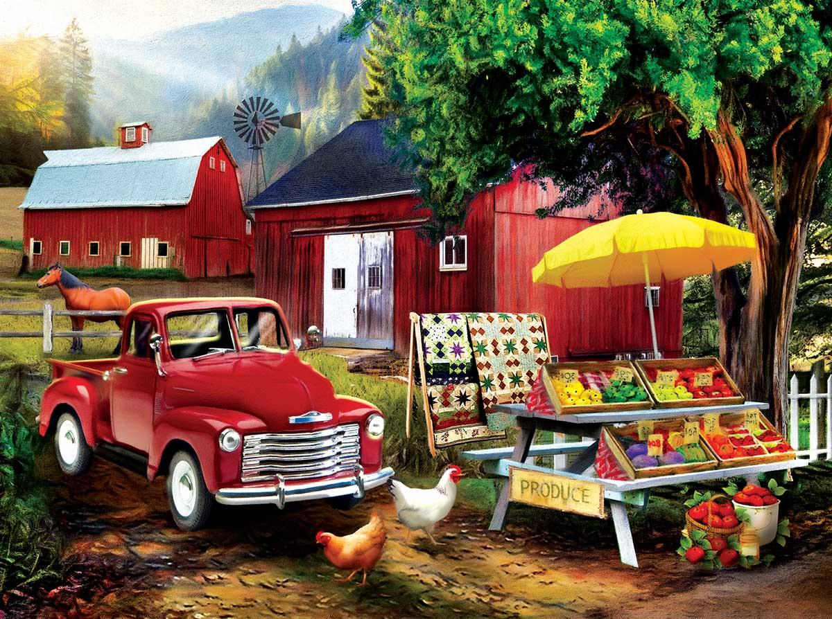 Country Produce Farm Jigsaw Puzzle