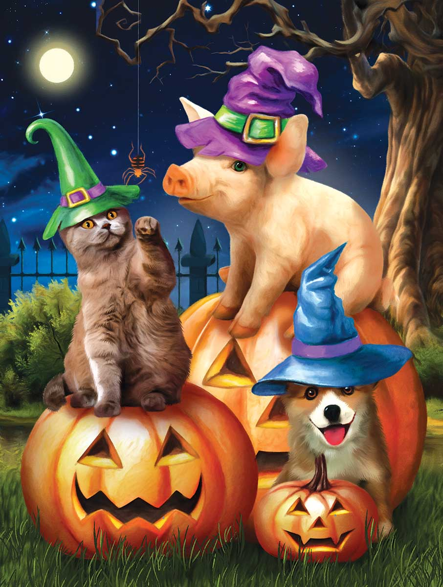 Ready to Party Cats Jigsaw Puzzle