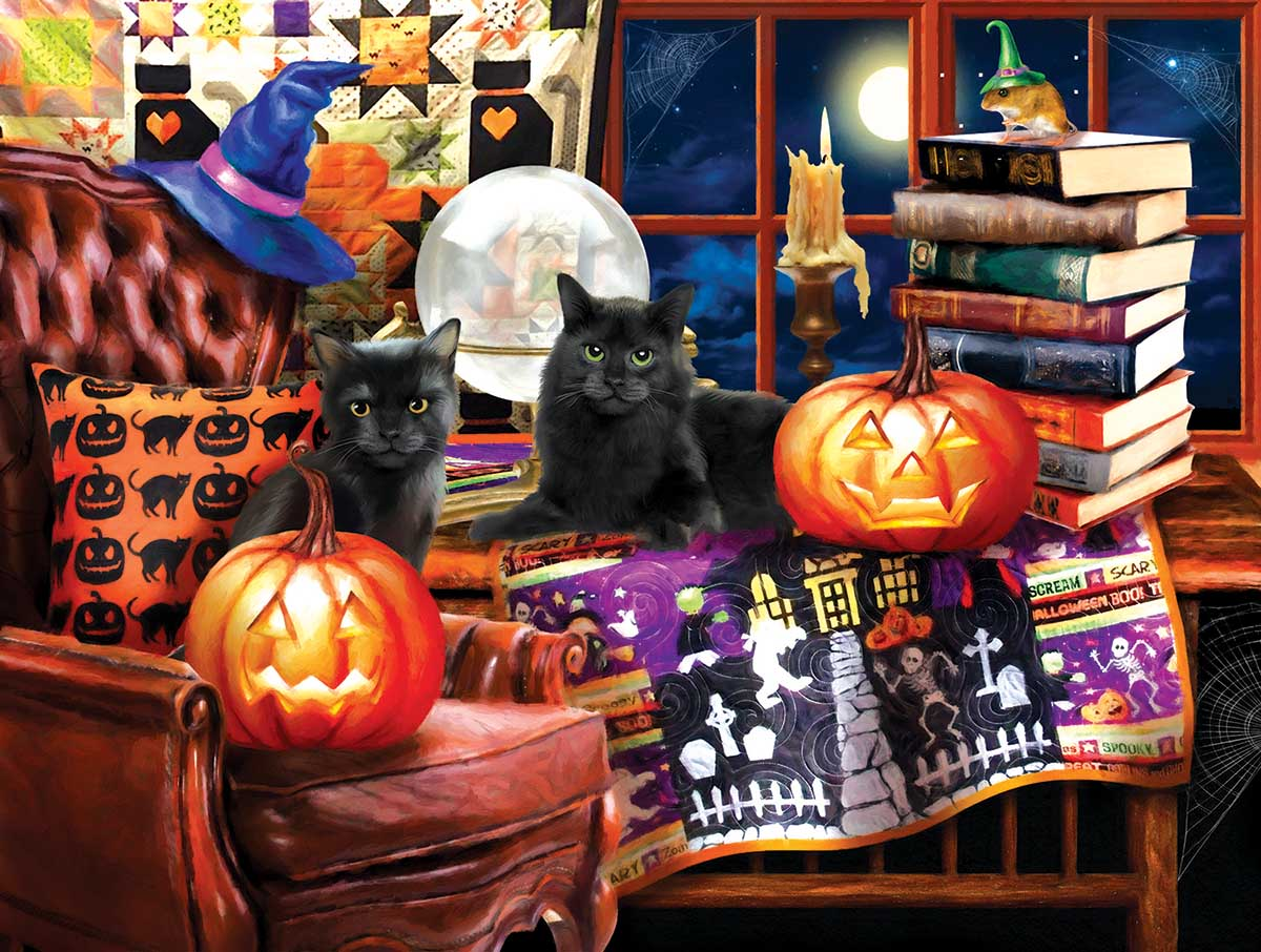 Our Favorite time of Year Cats Jigsaw Puzzle