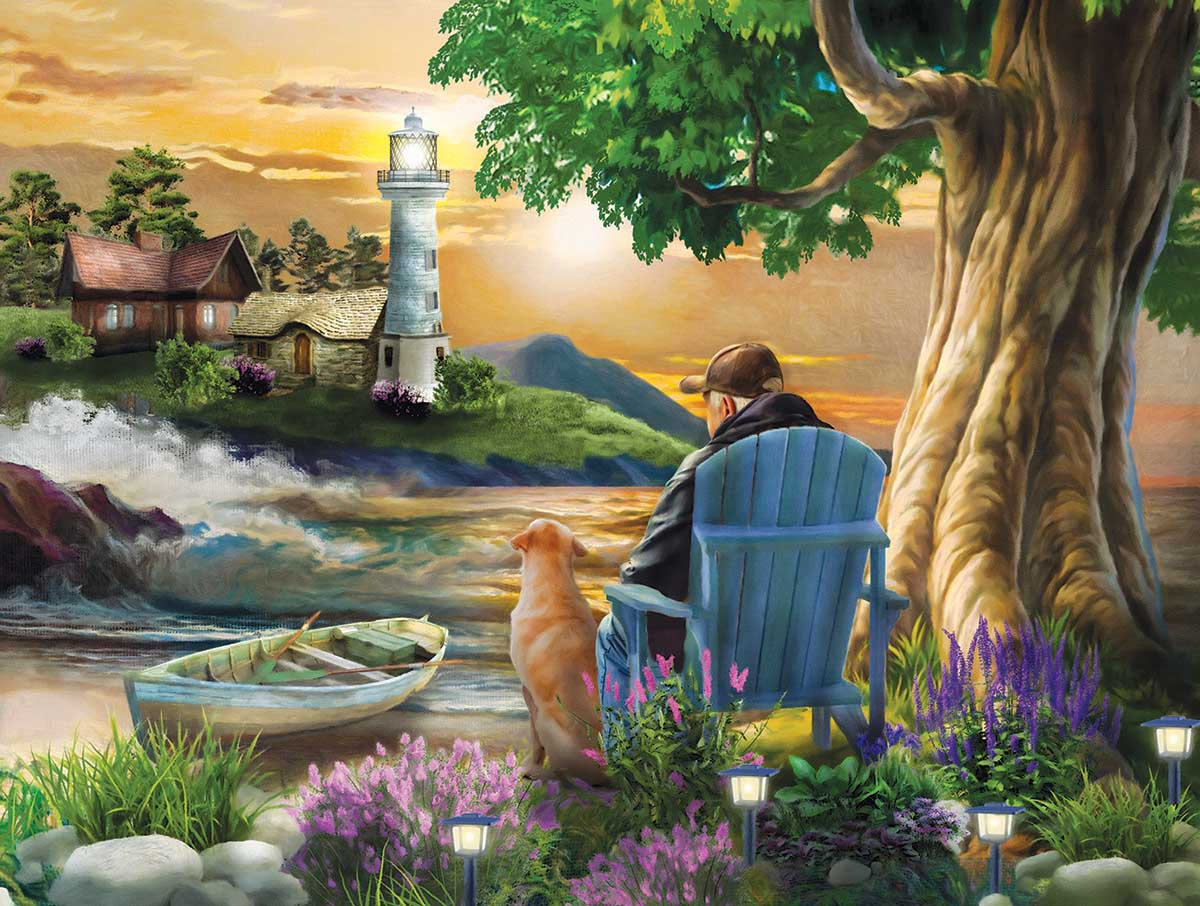 Old Friends Lighthouses Jigsaw Puzzle