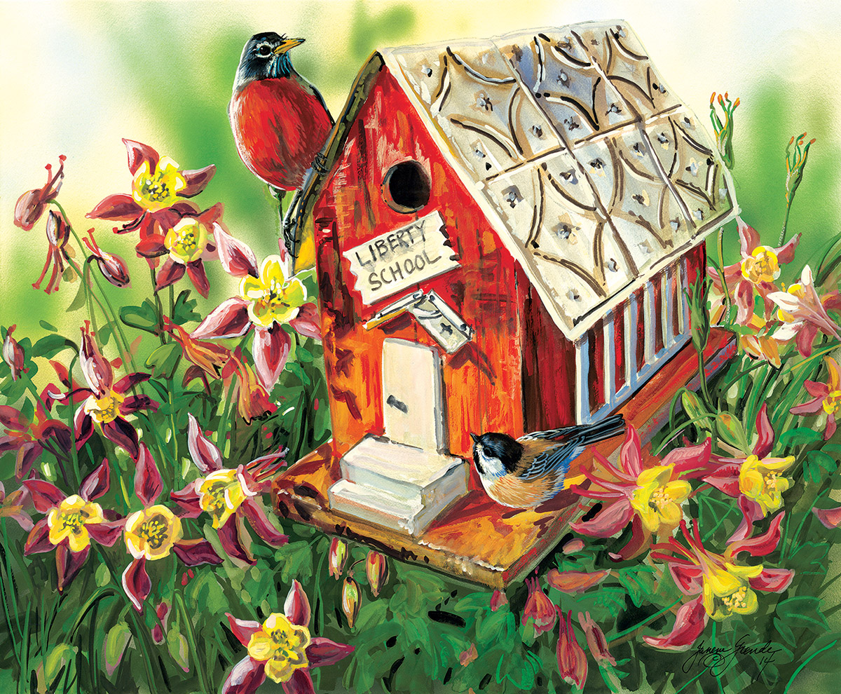 Liberty School Birds Jigsaw Puzzle