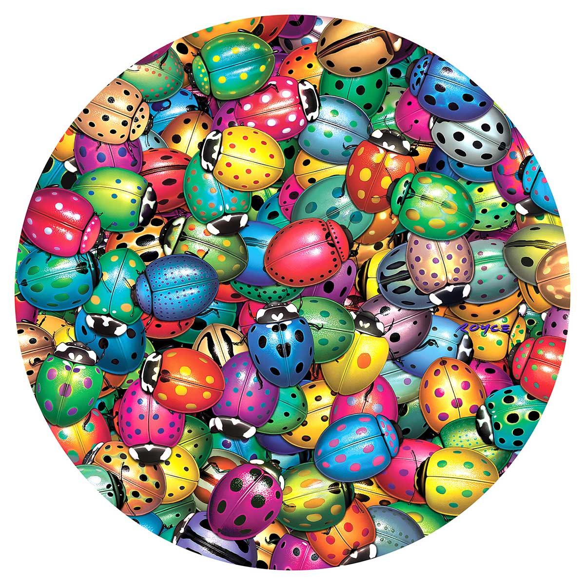 Beetlemania Butterflies and Insects Jigsaw Puzzle