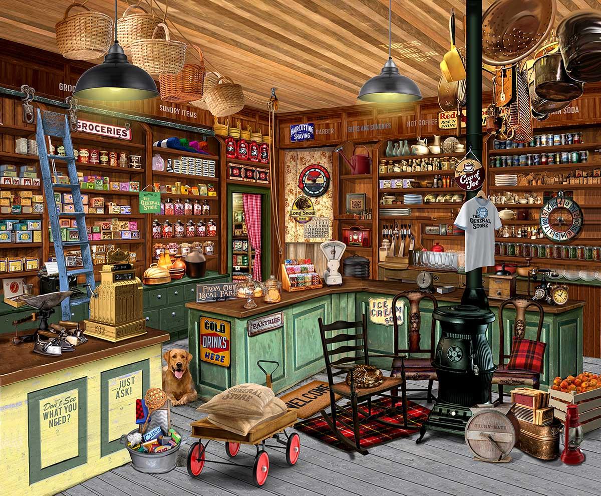 Everything You Need Nostalgic / Retro Jigsaw Puzzle