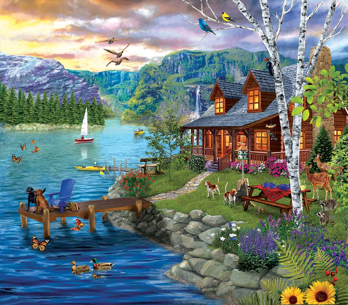 Peaceful Summer Summer Jigsaw Puzzle
