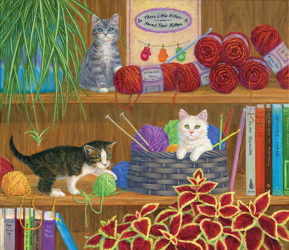 Mittens Crafts & Textile Arts Jigsaw Puzzle
