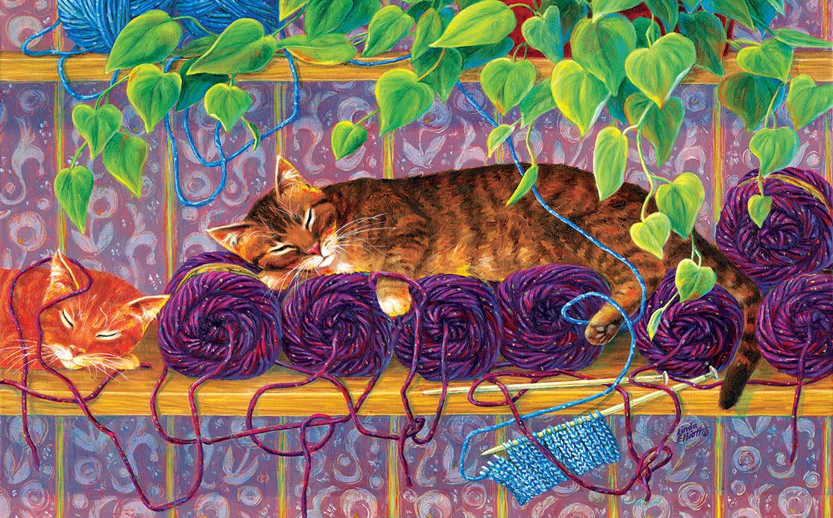 Our Work is Done Here Crafts & Textile Arts Jigsaw Puzzle