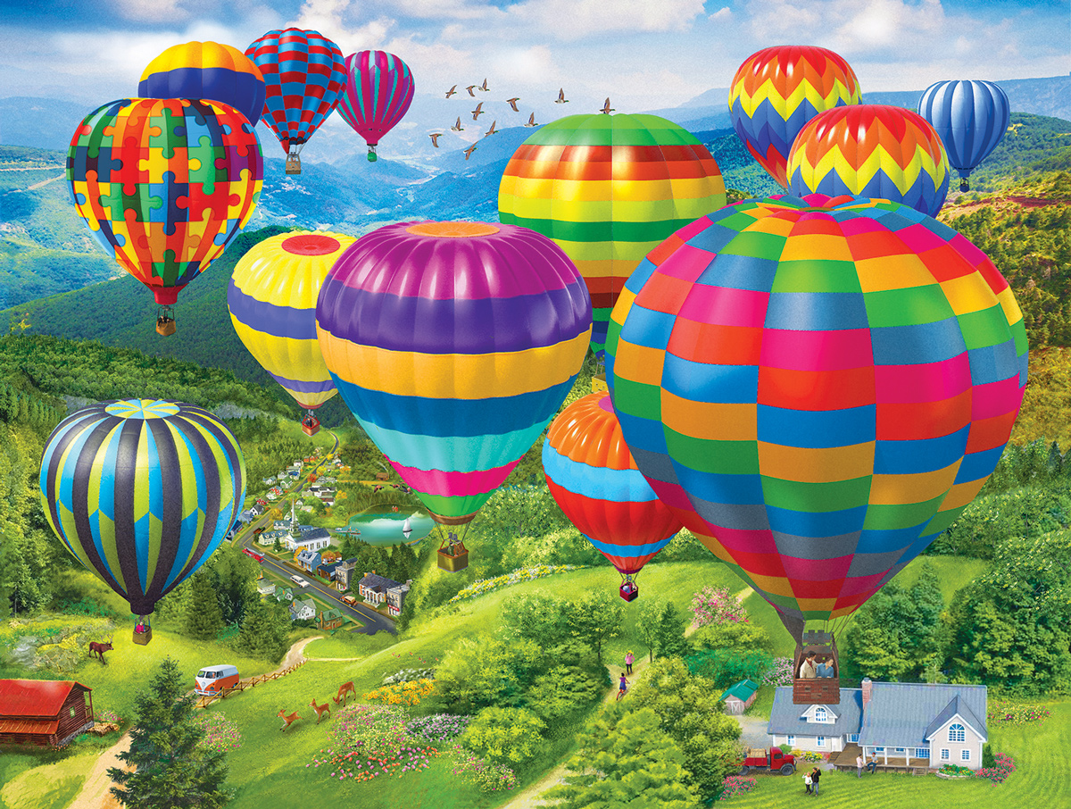 Balloon Fest Balloons Jigsaw Puzzle