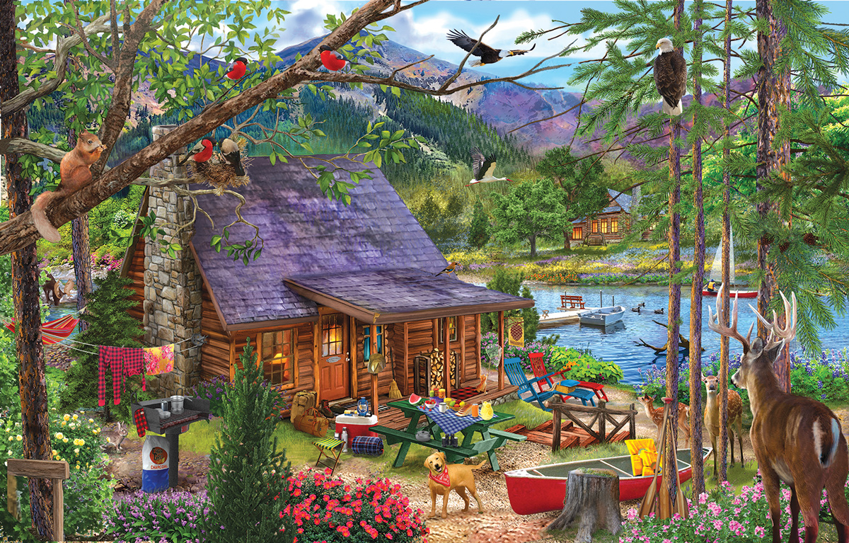 Our Special Place Mountains Jigsaw Puzzle