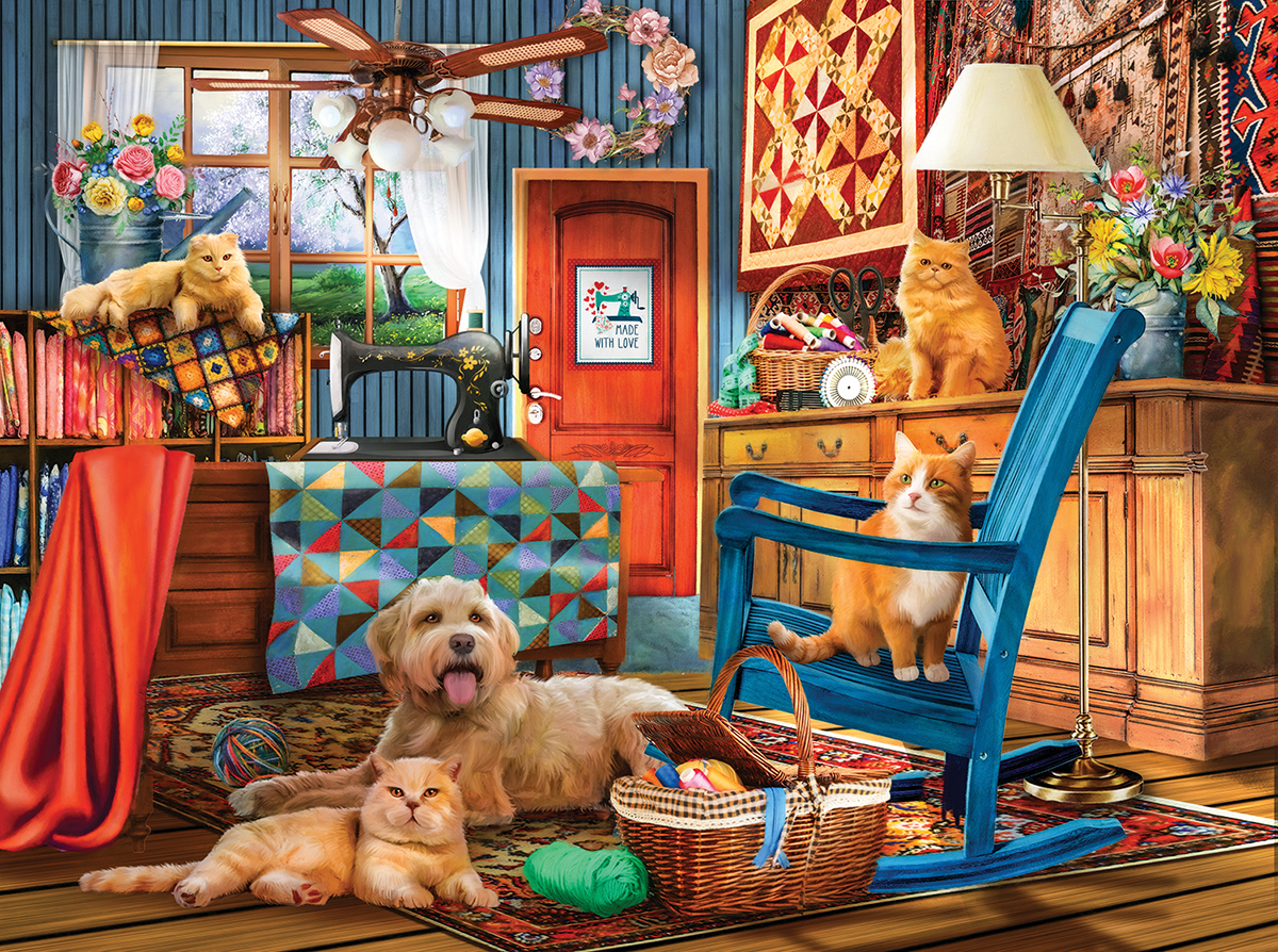 Drive In Movies / Books / TV Jigsaw Puzzle