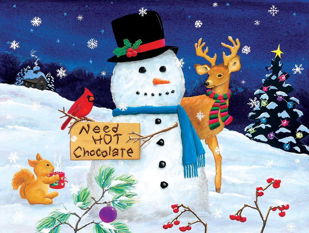 Need Hot Chocolate Winter Jigsaw Puzzle