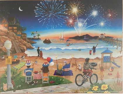 July Beach Beach Jigsaw Puzzle