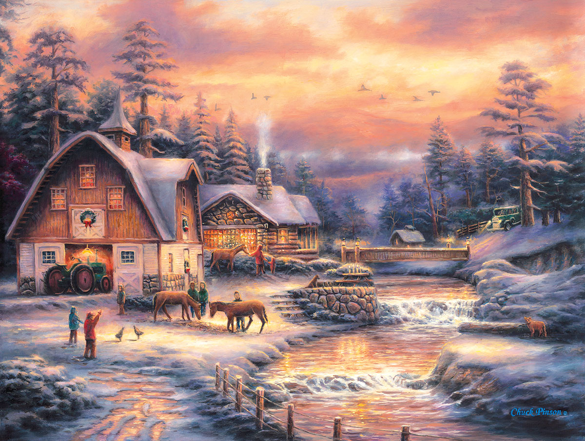 Country Holidays Countryside Jigsaw Puzzle