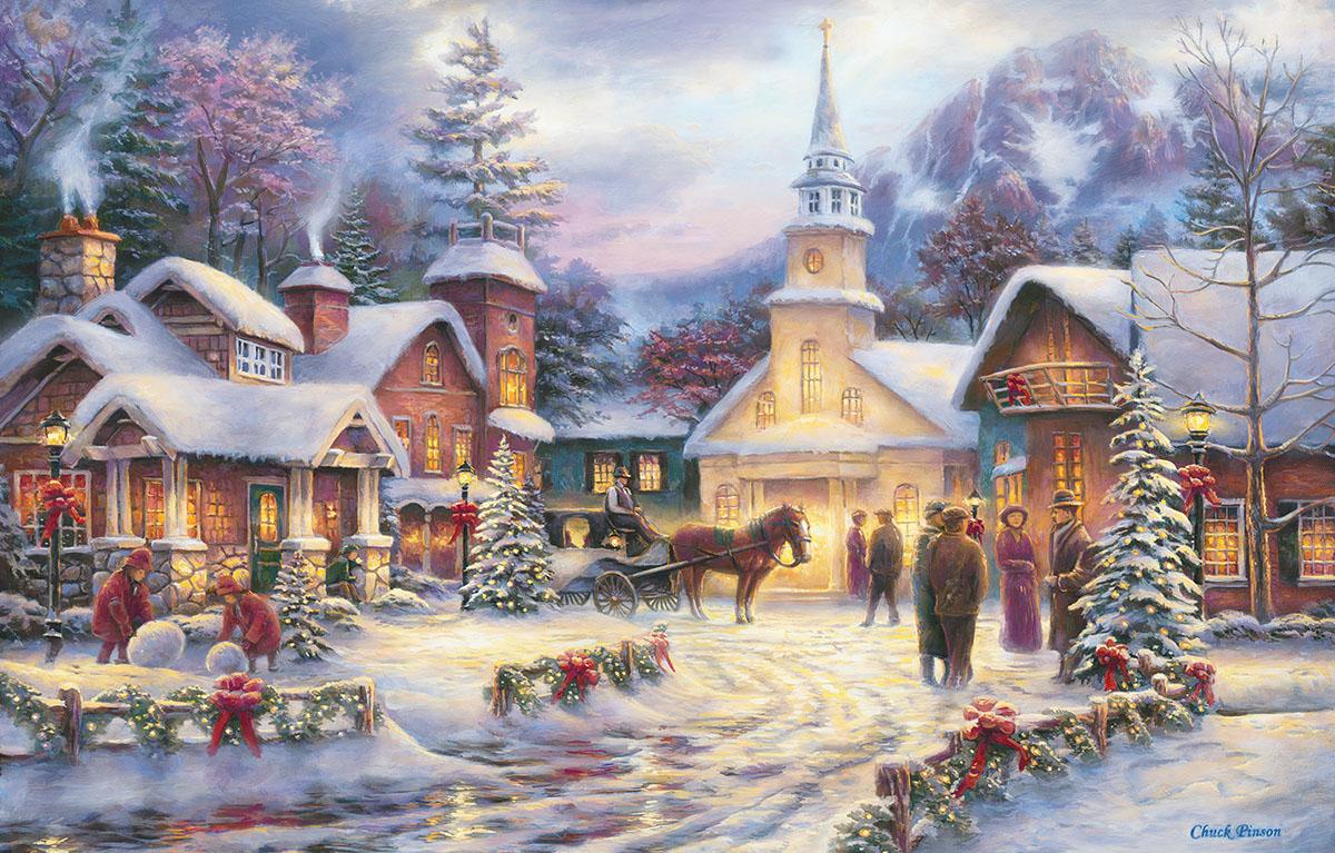 Faith Runs Deep Winter Jigsaw Puzzle