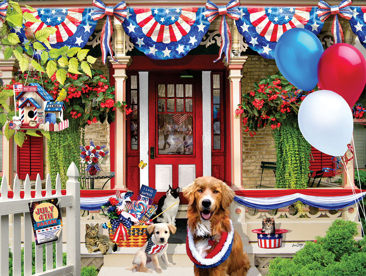 July 4th Parade 500 Fourth of July Jigsaw Puzzle