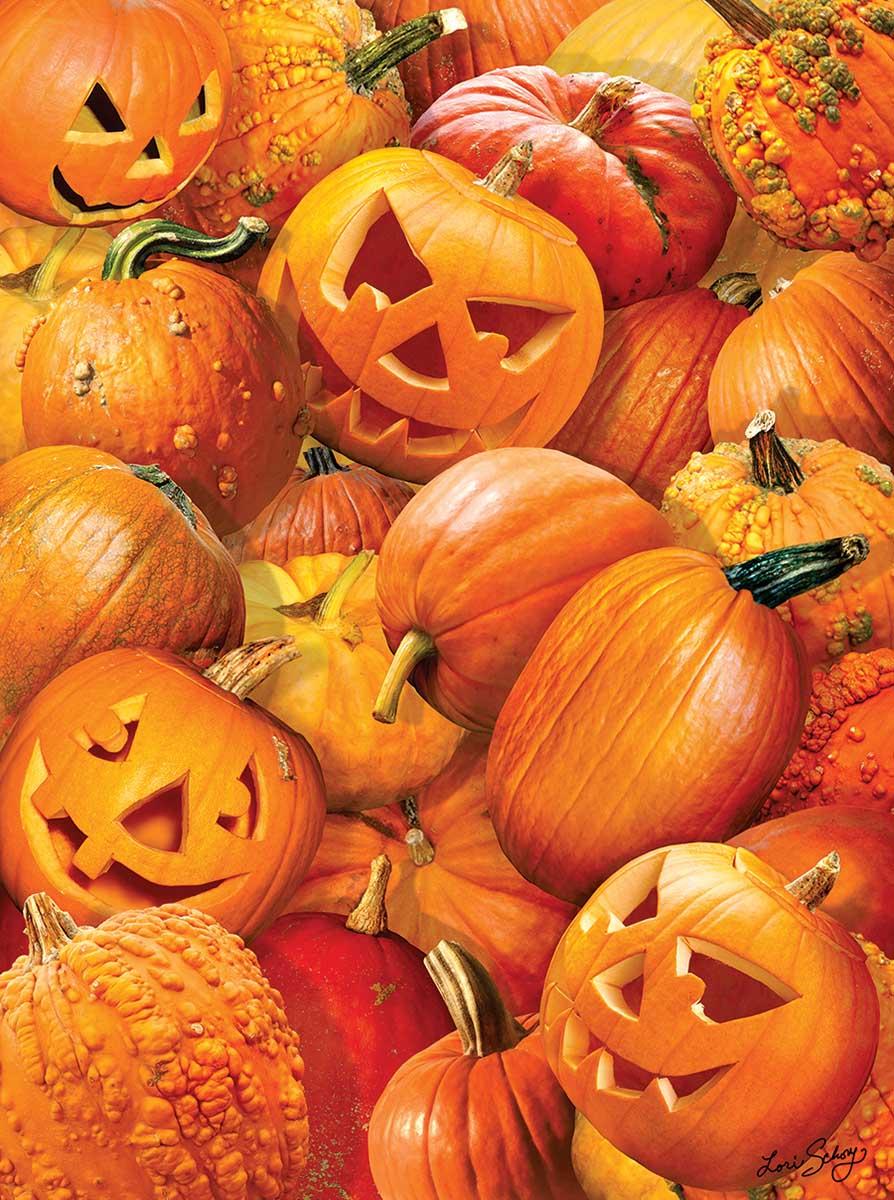 Pumpkin Challenge Fall Jigsaw Puzzle
